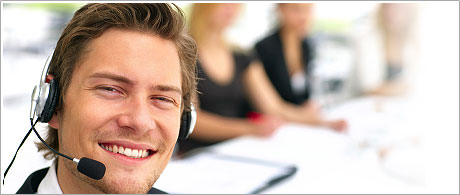 A round-the-clock customer support service